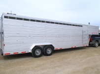 Commercial Double Deck Livestock Trailers - GNDD 48A