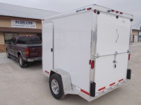 Bumper Pull Enclosed Cargo Trailers - BPDF 74