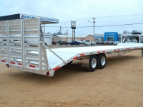 Gooseneck Heavy Equipment Flatbed Trailers - GNF 97A