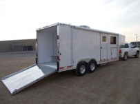 Gooseneck Automotive All Aluminum Enclosed Trailers - GNA 34