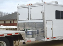 Bumper Pull Enclosed Cargo Trailers - BPDF 88B