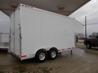 Gooseneck Enclosed Cargo Trailers - GNDF 57