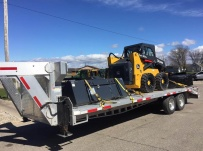Gooseneck Heavy Equipment Flatbed Trailers - GNF 102E