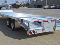 Gooseneck Heavy Equipment Flatbed Trailers - GNF 95A