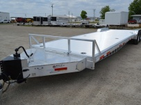 Bumper Pull Open Automotive Aluminum Trailers - BPOC 28A