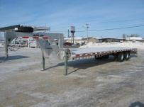 Gooseneck Heavy Equipment Flatbed Trailers - GNF 30A
