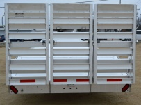 Gooseneck Open Automotive Aluminum Trailers - GNOC 29B