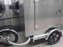 Enclosed Motorcycle Trailer Pull Behind Tote - CYCLE 46A