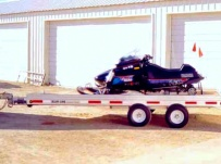 Open Motorcycle/Snowmobile Toy Haulers - SNOW 6B