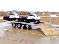 Open Motorcycle/Snowmobile Toy Haulers - SNOW 8C