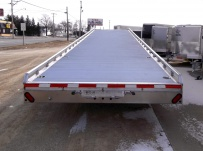 Gooseneck Wedge Deck Open Automotive Aluminum Trailers - GNOC 17B