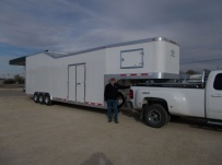 Gooseneck Enclosed Cargo Trailers - GNDF 59B