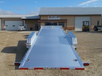 Bumper Pull Open Automotive Aluminum Trailers - BPOC 27B