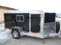 Bumper Pull Enclosed Cargo Trailers - BPDF 87
