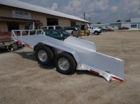 Bumper Pull Open Automotive Aluminum Trailers - BPOC 25A