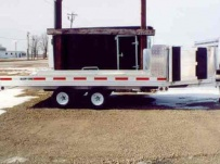 Open Motorcycle/Snowmobile Toy Haulers - SNOW 2B