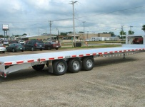Gooseneck Heavy Equipment Flatbed Trailers - GNF 29A