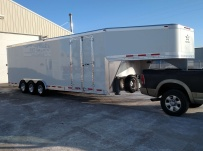 Gooseneck Enclosed Cargo Trailers - GNDF 54