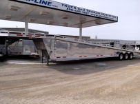 Gooseneck Wedge Deck Open Automotive Aluminum Trailers - GNOC 19A