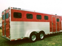 Gooseneck Horse Trailers - GNEH 1A