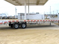 Gooseneck Heavy Equipment Flatbed Trailers - GNF 27A - 25'
