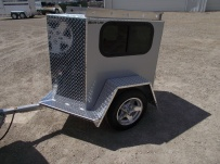 Enclosed Motorcycle Trailer Pull Behind Tote - CYCLE 47B