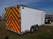 Bumper Pull Automotive All Aluminum Enclosed Trailers - BPA 72A