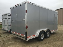 Bumper Pull Automotive All Aluminum Enclosed Trailers - BPA 75A