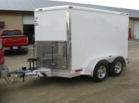 Bumper Pull Enclosed Cargo Trailers - BPDF 37A
