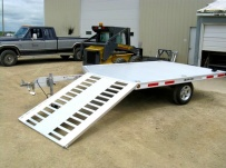 Open Motorcycle/Snowmobile Toy Haulers - SNOW 11