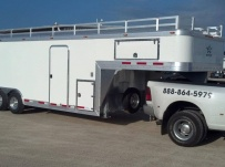Gooseneck Enclosed Cargo Trailers - GNDF 49