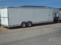 Gooseneck Automotive All Aluminum Enclosed Trailers - GNA 32