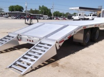 Gooseneck Heavy Equipment Flatbed Trailers - GNF 64B