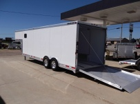Gooseneck Automotive All Aluminum Enclosed Trailers - GNA 29B