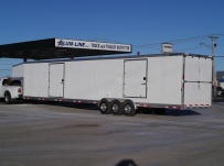 Gooseneck Automotive All Aluminum Enclosed Trailers - GNA 33