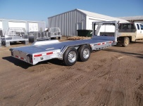 Gooseneck Low Profile Heavy Equipment Flatbed Trailers - GNLPF 33