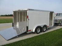 Bumper Pull Automotive All Aluminum Enclosed Trailers - BPA 40B