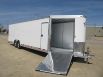 Bumper Pull Automotive All Aluminum Enclosed Trailers - BPA 38C