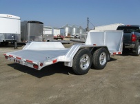 Bumper Pull Open Automotive Aluminum Trailers - BPOC 15