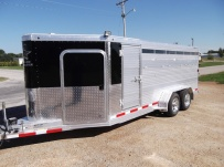Showmaster Low Profile Small Livestock Trailers - BPLP4V 32B