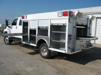 Rescue Body Aluminum Truck Bodies - RFB 37A