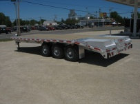 Bumper Pull Heavy Equipment Flatbed Trailers - BPF 7A