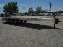 Bumper Pull Heavy Equipment Flatbed Trailers - BPF 7B