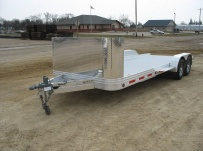 Bumper Pull Open Automotive Aluminum Trailers -  BPOC 13A