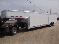Gooseneck Enclosed Cargo Trailers - GNDF 46
