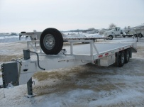 Bumper Pull Heavy Equipment Flatbed Trailers - BPF 17