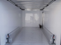 Bumper Pull Automotive All Aluminum Enclosed Trailers - BPA 42