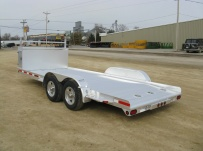 Bumper Pull Open Automotive Aluminum Trailers - BPOC 14B