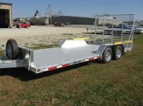 Bumper Pull Open Automotive Aluminum Trailers - BPOC 23