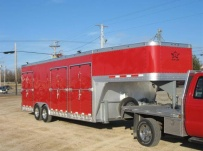 Gooseneck Enclosed Cargo Trailers - GNDF 42
